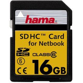 16 GB Hama High Speed Pro SDHC Class 6 Retail
