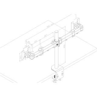 Newstar FPMA-D960D Tischhalterung schwarz