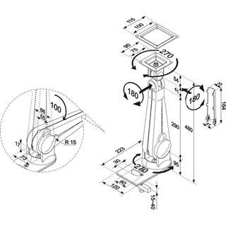 NewStar M LCD-Arm FPMA-D200BLACK
