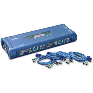 Trendnet TK-400K 4-fach VGA-KVM-Switch