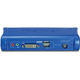 Trendnet TK-204UK 2-fach Desktop KVM-Switch