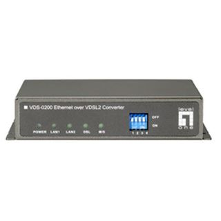 LevelOne Converter 10-100/VDSL VDS-0200 An