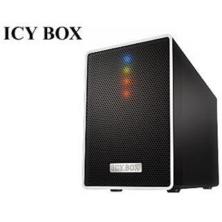 "3.5""(8,89cm) Icy Box IB-RD4320StUS3 SATA USB 2.0 Schwarz"