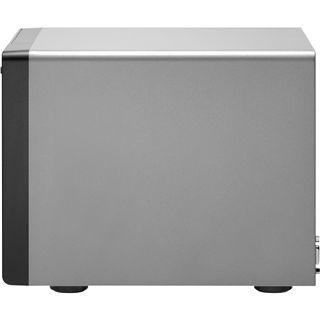 "QNAP Turbostation TS-459 Pro NAS System für 4x2,5"" oder 4x3,5"" SATA II HDD Schwarz"