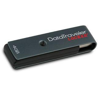 4 GB Kingston DataTraveler Locker+ grau USB 2.0