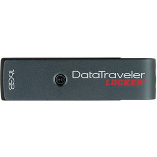 16 GB Kingston DataTraveler Locker+ grau USB 2.0