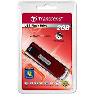 2 GB Transcend JetFlash V10 rot USB 2.0