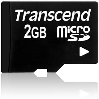 2 GB Transcend Standard microSD Class 2 Retail