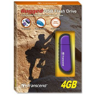 4 GB Transcend JetFlash V70 blau USB 2.0