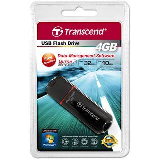 4 GB Transcend JetFlash 600 schwarz USB 2.0