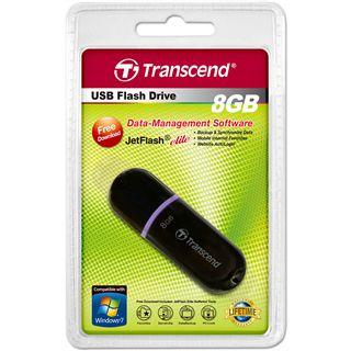 8 GB Transcend JetFlash 300 schwarz USB 2.0