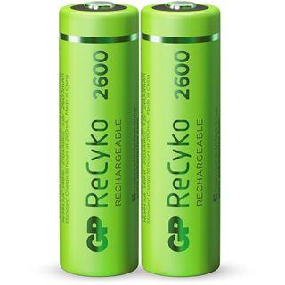GP Batteries Akkus AA / Mignon Nickel-Metall-Hydrid 2700 mAh 2er Pack
