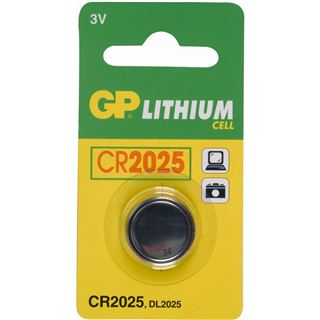 GP Batteries Knopfzelle CR2025 Lithium 3.0 V 1er Pack
