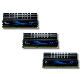 6GB G.Skill PI Series DDR3-1600 DIMM CL7 Tri Kit