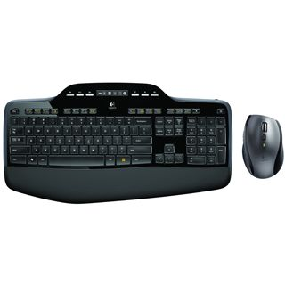 Logitech MK710 Deutsch USB schwarz/grau