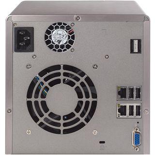 "QNAP Turbostation TS-439 Pro II NAS System für 4x2,5"" oder 4x3,5"" SATA II HDD Schwarz"