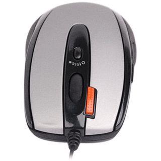 A4tech X6-70MD Glaser Mini Mouse PS/2 & USB grau/schwarz (kabelgebunden)