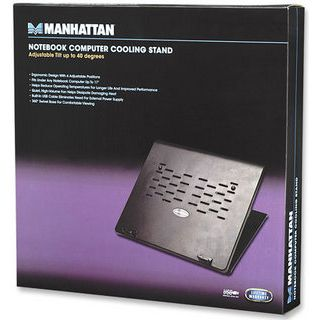 Manhattan Notebook Computer Stand w/fan
