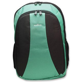 Manhattan Notebook Back Pack, Green bis 15.4 Zoll (39,12cm)