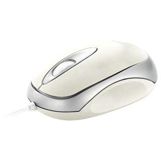 Trust Centa Mini Mouse USB weiß (kabelgebunden)