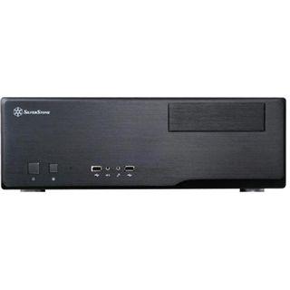 Silverstone Grandia GD05 Desktop ohne Netzteil schwarz