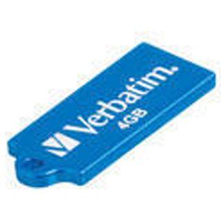 4 GB Verbatim Store `n` Go Micro blau USB 2.0
