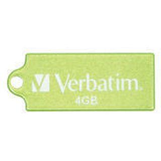 4 GB Verbatim Store `n` Go Micro gruen USB 2.0