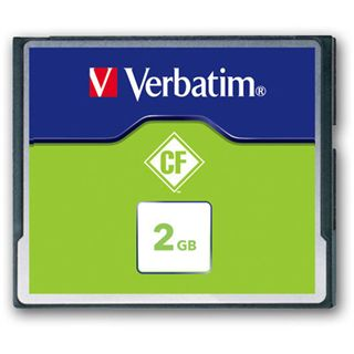 2 GB Verbatim Standard Compact Flash TypI 20x Bulk