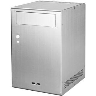 Lian Li PC-Q07A ITX Tower ohne Netzteil silber
