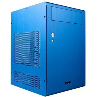 ITX Lian Li PC-Q07I Cube Gehäuse o.NT Blau