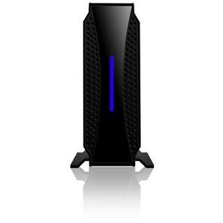 """3.5""""(8,89cm) Icy Box IB-371StUS2-B SATA/eSATA USB 2.0 Schwarz"""