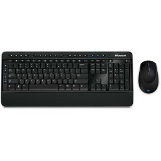 Microsoft Cordless Desktop 3000 Tastatur+Maus Schwarz Deutsch USB BULK 1er