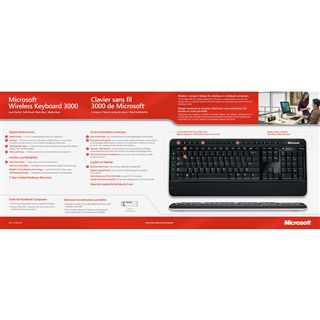 Microsoft Wireless Keyboard 3000 Funktastatur