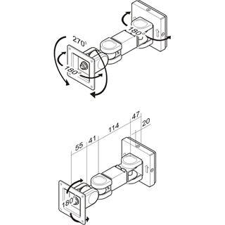 NewStar LCD-Wandhalter FPMA-W300