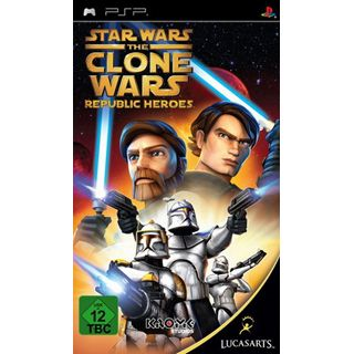 Star Wars - The Clone Wars - Republic Heroes (PSP)