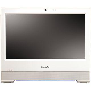 Shuttle X5020XA ATOM D510 2GB 250GB 15.6 Zoll (39,6cm) ohne OS weiß