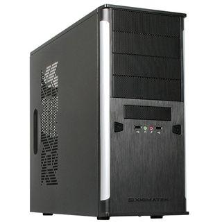 Xigmatek Asgard II Midi Tower ohne Netzteil schwarz/silber
