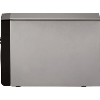 "QNAP Turbostation TS-239 Pro II NAS System für 2x2,5"" oder 2x3,5"" SATA II HDD Schwarz"