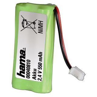 Hama Phone Power Akku Nickel-Metall-Hydrid 550 mAh 1er Pack