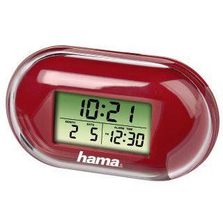 Hama Mini-Reisewecker Fashion Rot