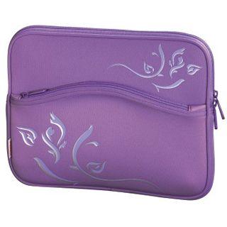 Hama Netbook-Cover Comfort Emerging bis 26cm (10,2 Zoll) Lila