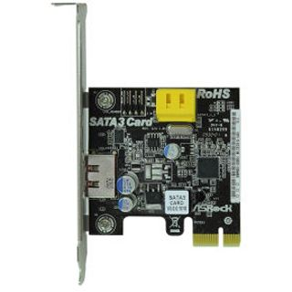 ASRock SATA 3.0 Card 1x eSATA/2x SATA PCIe x1