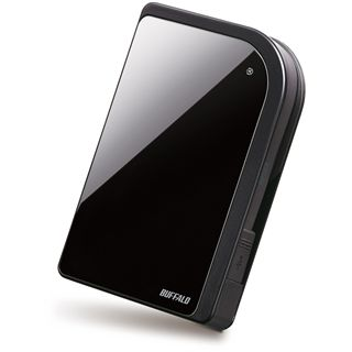 "320GB Buffalo MiniStation Encryption HD-PXT320U2/B-EU 2.5"" (6.4cm) USB 2.0 schwarz"