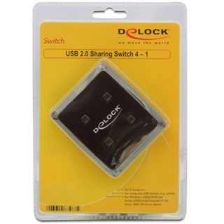Delock KVM 2.0 Data Switch, 4-1