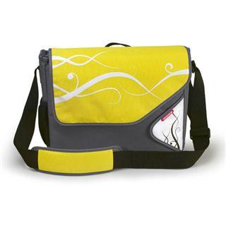 "Soyntec Notebooktasche Lapmotiona 201A 15.4"" (39,12cm) gelb"
