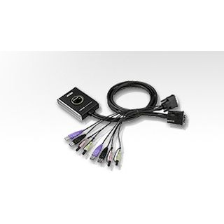 ATEN Technology CS682 2-fach Kabel KVM-Switch