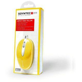 Soyntec Inpput R260 USB gelb (kabelgebunden)