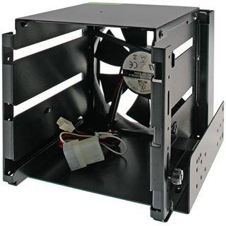 """Lian Li schwarzer Festplattenkäfig für 3x 3.5"""" Festplatten (EX-33X2)"""