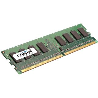 2GB Crucial CT25664AA800 DDR2-800 DIMM CL6 Single