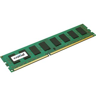 2GB Crucial Value DDR3-1333 DIMM CL9 Single
